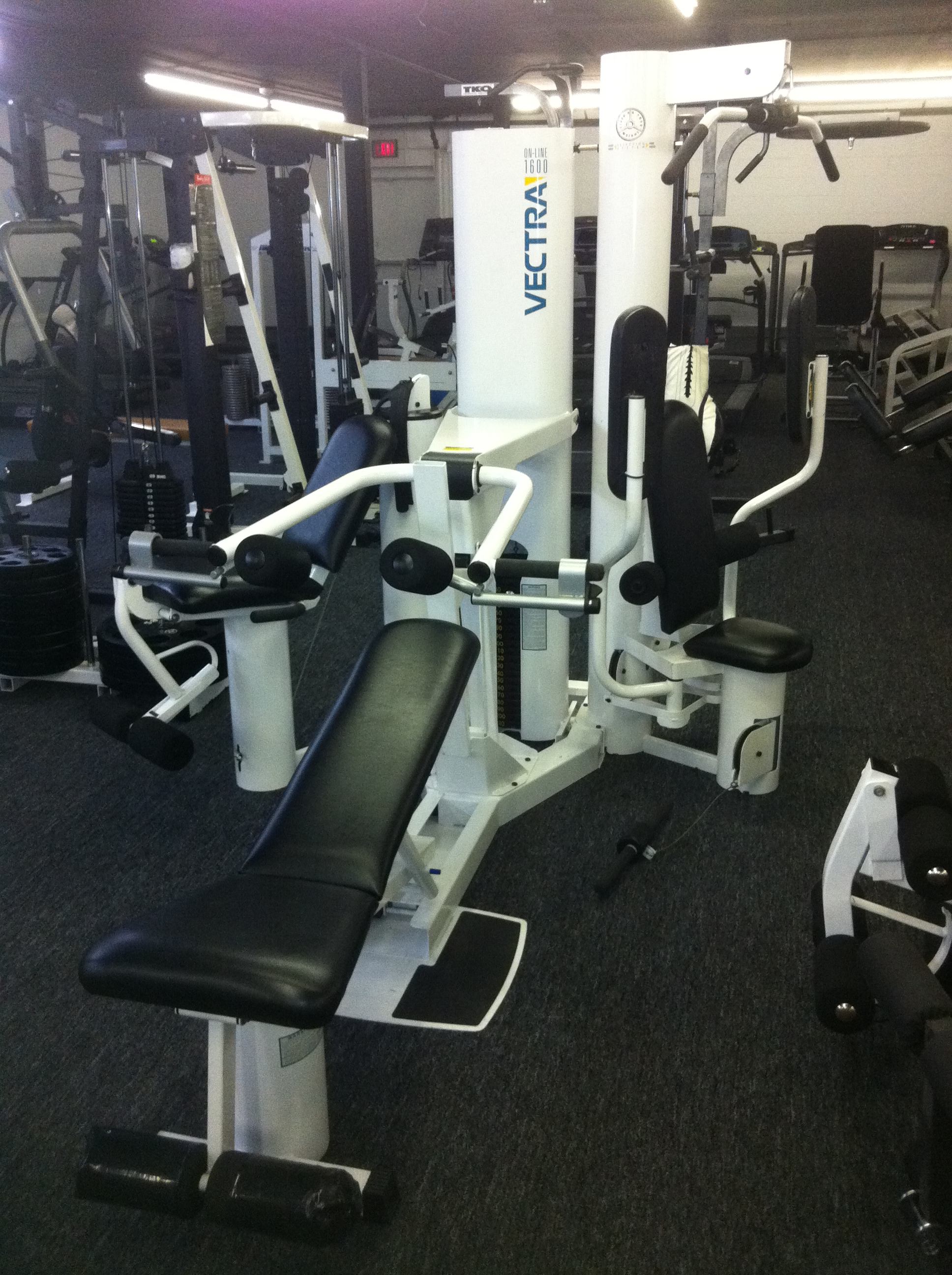 Refurbished vectra 1600 home gym ultimate fitness equipment