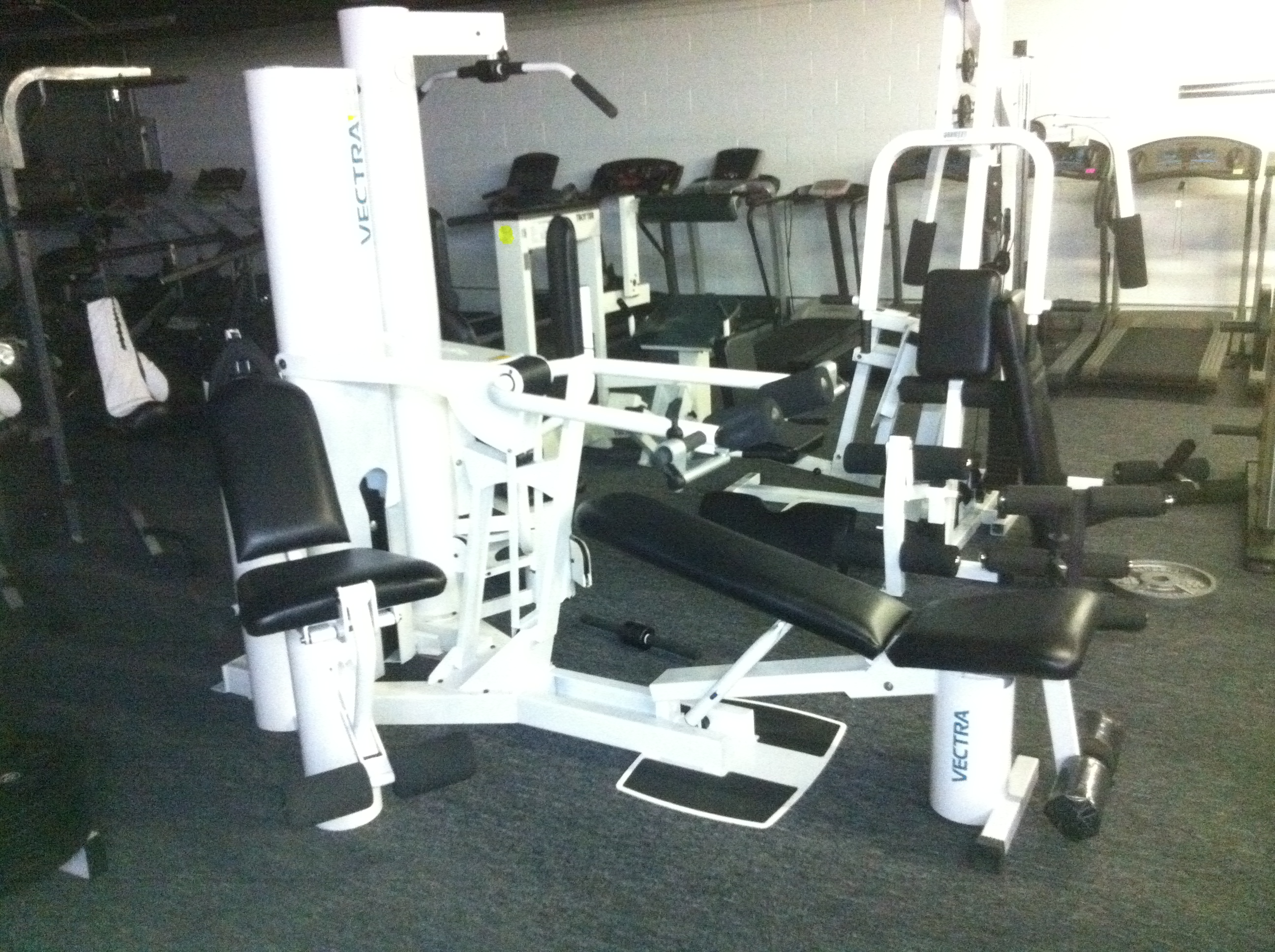Refurbished vectra home gym ultimate fitness equipment